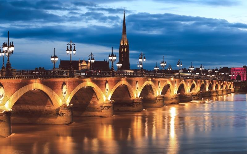 Me encantando por Bordeaux, por Silvia Bohn Gonçalves