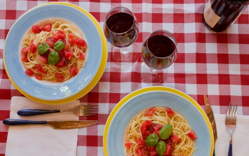 Molho de tomate + Chianti: será que harmoniza?