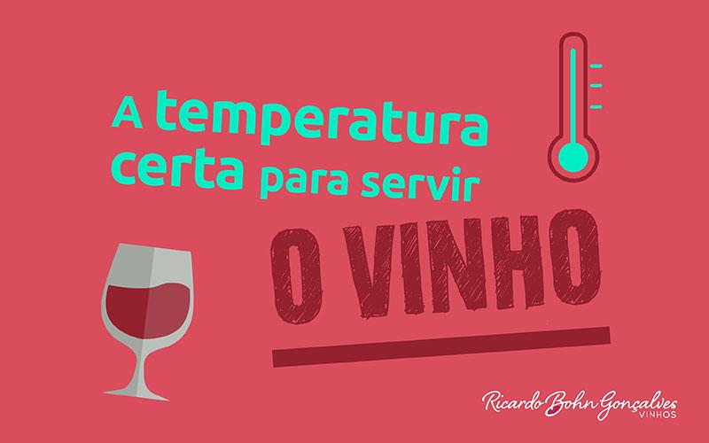 Serviço do vinho: a temperatura correta